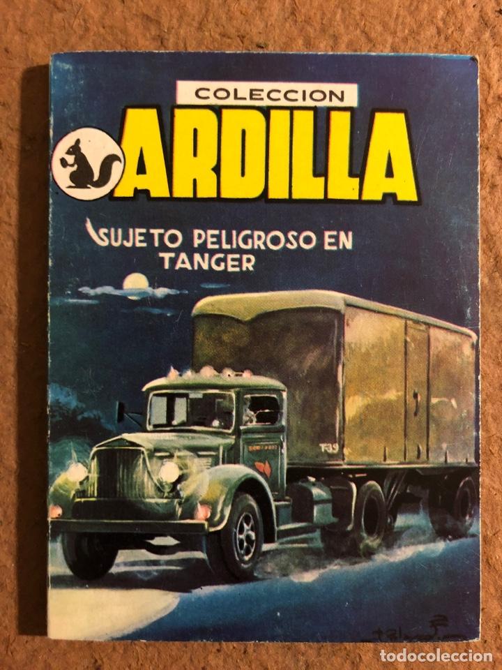 COLECCIÓN ARDILLA N° 80. SUJETO PELIGROSO EN TÁNGER. EDUARDO MARCOS. EDICIONES DOMINGO SAVIO 1958 (Libros de Segunda Mano (posteriores a 1936) - Literatura - Narrativa - Otros)