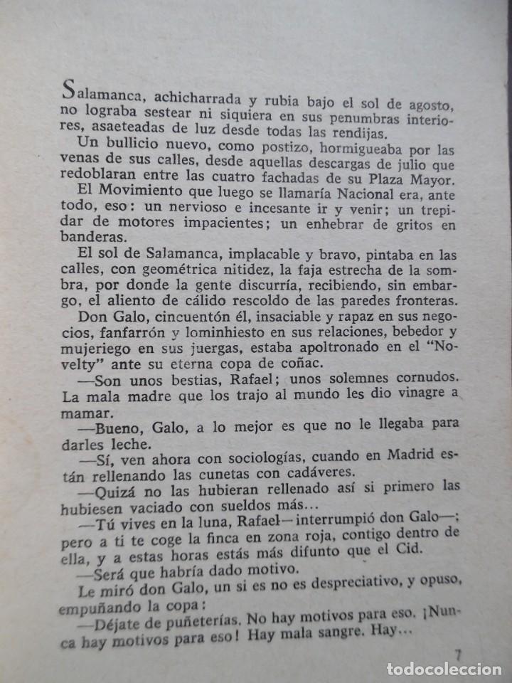 Libros de segunda mano: Tierra brava, de José Luis Martín Vigil. Episodio de la Guerra de España - Foto 3 - 194905900
