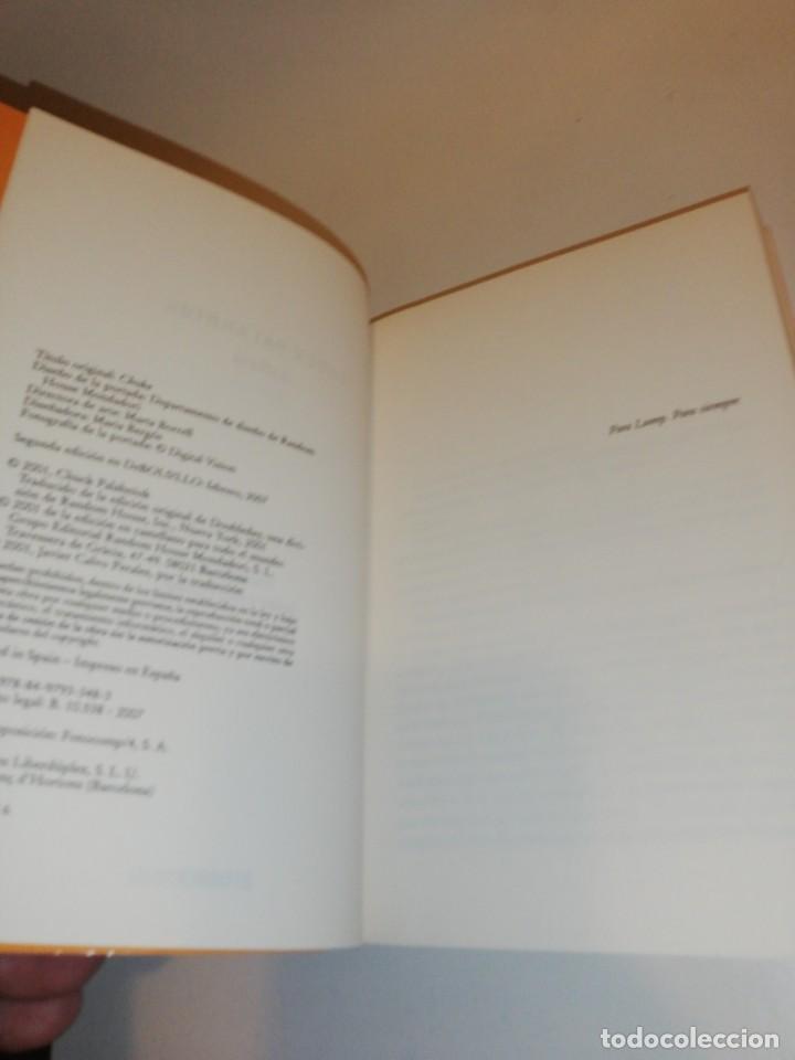 Libros de segunda mano: Chuck Palahniuk, asfixia - Foto 2 - 194906382