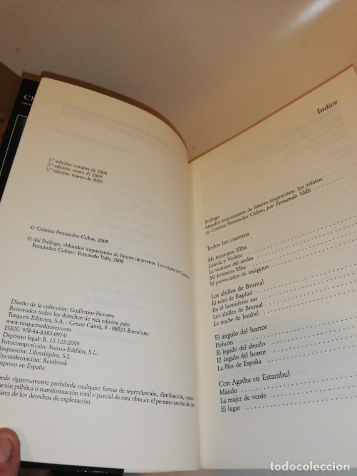 Libros de segunda mano: Cristina Pérez cubas , todos los cuentos - Foto 2 - 194906393
