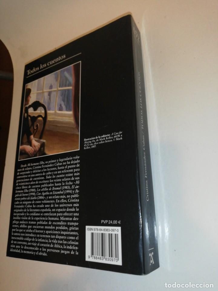 Libros de segunda mano: Cristina Pérez cubas , todos los cuentos - Foto 3 - 194906393