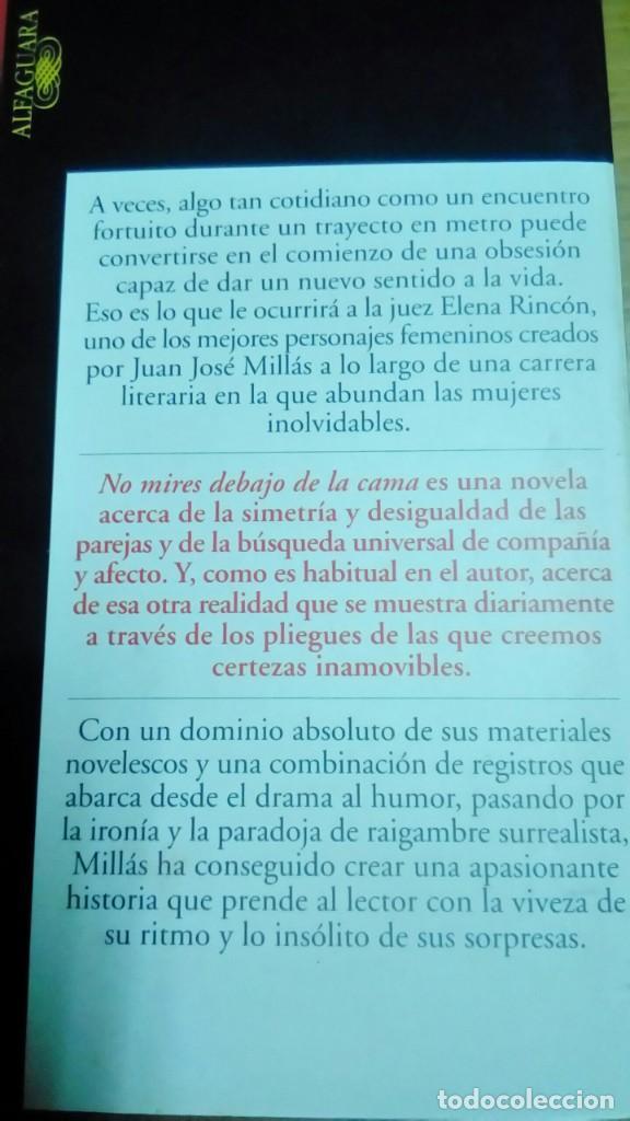 Libros de segunda mano: No mires debajo de la cama, Juan José Millás - Foto 2 - 194907301