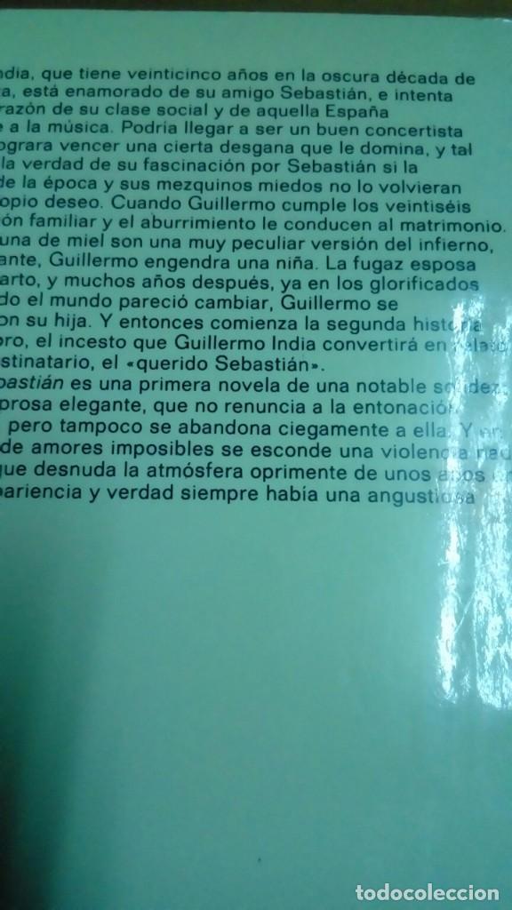Libros de segunda mano: Mi querido Sebastián, Olga Guirao - Foto 2 - 194907338