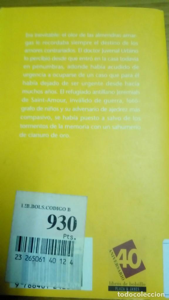 Libros de segunda mano: El amor en los tiempos del cólera, Gabriel García Márquez - Foto 2 - 194907357
