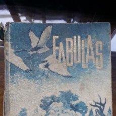Libros de segunda mano: FÁBULAS. ESOPO Y LA FONTAINE. EDITORIAL SAYMA 1963. 36 FÁBULAS. 222 PÁG. COLECCION ARLO. Lote 194954625