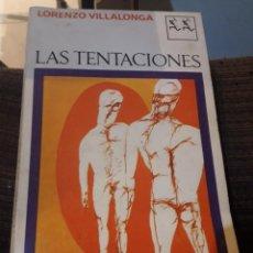 Libros de segunda mano: LAS TENTACIONES. Lote 194978451