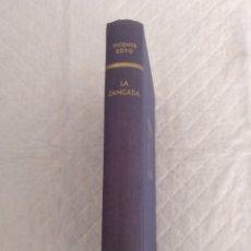 Libros de segunda mano: LA ZANCADA. UNOS MESES EN LA VIDA DE UNA FAMILIA. VICENTE SOTO. ÁNCORA Y DELFÍN 286. LIBRO. Lote 194981580