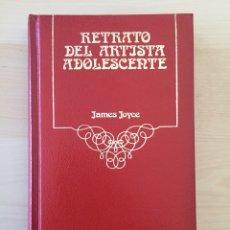 Libros de segunda mano: RETRATO DEL ARTISTA ADOLESCENTE- JAMES JOYCE- EDITORIAL ARGOS VERGARA 1980- PASTA DURA. Lote 194987380