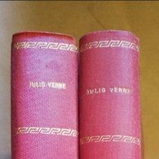 Libros de segunda mano: 2 TOMOS OBRAS DE JULIO VERNE - VARIAS EDITORAS (VER FOTOS) // PJRB. Lote 194995356