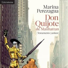 Libros de segunda mano: DON QUIJOTE DE MANHATTAN. Lote 195044926