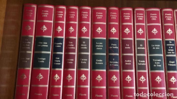 Libros de segunda mano: LOTE DE 36 PREMIOS PLANETA. AÑOS 1952 A 1987 (FALTA 1986) - Foto 2 - 195072221