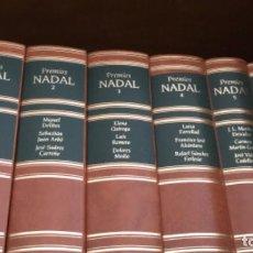 Libros de segunda mano: 45 PREMIOS NADAL 1944 – 1988. COLECCION DE 15 TOMOS CON TRES OBRAS EN CADA TOMO. Lote 195074396