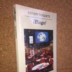 Libros de segunda mano: - LIQUIDACION ANAGRAMA!! - ¡BINGO! - ESTHER TUSQUETS - BUEN ESTADO. Lote 195076860