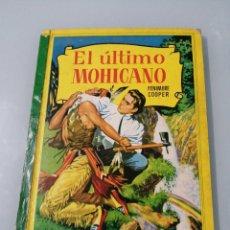 Libros de segunda mano: EL ÚLTIMO MOHICANO. FENIMORE COOPER. 1963. SEGUNDA EDICION. BRUGUERA. COLECCIÓN CORINTO.. Lote 195079943
