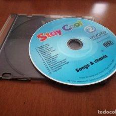 Libros de segunda mano: STAY COOL. 2. CD DE SONGS & CHANTS DE ESTE LIBRO DE APRENDER INGLÉS. BUEN ESTADO. . Lote 195091558