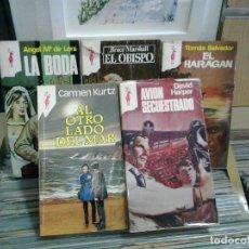 Libros de segunda mano: LMV - LOTE DE 5 NOVELAS DE COLECCIÓN RENO. Lote 195123651