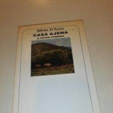 Libros de segunda mano: SILVIO D' ARZO CASA AJENA Y OTROS CUENTOS . Lote 195153458