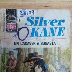 Libros de segunda mano: 28137 - NOVELAS DEL OESTE - COL BRAVO OESTE - SILVER KANE - HA MUERTO UNA MUJER - Nº 982. Lote 195160220