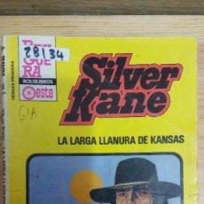 Libros de segunda mano: 28134 - NOVELAS DEL OESTE - COL HEROES PRADERA - SILVER KANE - LA LARGA LLANURA DE KANSAS - Nº 743. Lote 195160241