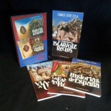 Libros de segunda mano: CAMILO JOSE CELA - A LA PATA DE PALO (4 LIBROS) - CIRCULO DE LECTORES 1987. Lote 195160520