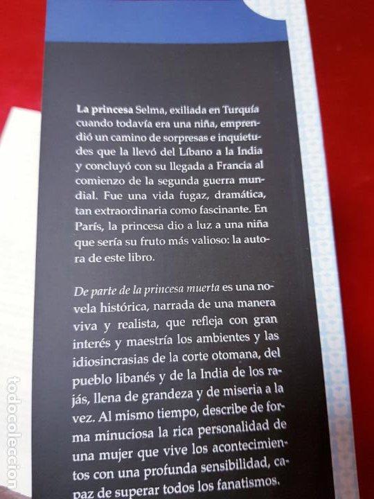 Libros de segunda mano: LIBRO-DE PARTE DE LA PRINCESA MUERTA-KENIZÉ MOURAD-4ªEDICIÓN-2010-EL ALEPH EDITORES-EXCELENTE-VER FO - Foto 15 - 195164710