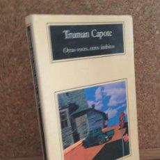 Libros de segunda mano: - LIQUIDACION ANAGRAMA!! - OTRAS VOCES, OTROS AMBITOS - TRUMAN CAPOTE - BUEN ESTADO. Lote 195166666