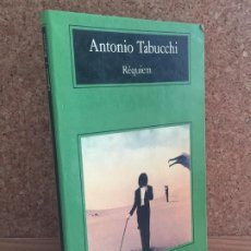 Libros de segunda mano: - LIQUIDACION ANAGRAMA!! - REQUIEM - ANTONIO TABUCCHI - BUEN ESTADO. Lote 195166753