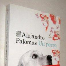Libros de segunda mano: UN PERRO - ALEJANDRO PALOMAS. Lote 195183132