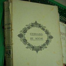 Libros de segunda mano: CERRADO DE NOCHE, PAUL MORAND. L.17025-162. Lote 195183186