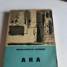 Libros de segunda mano: ARA. Lote 195197598