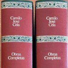 Libros de segunda mano: CAMILO JOSÉ CELA. TOMOS 1 Y 2 DE OBRAS COMPLETAS DE EDICIONES DESTINO.. Lote 195202875