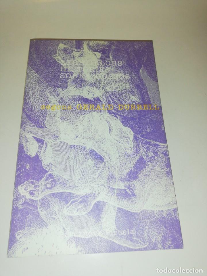 LES MILLORS HISTORIES SOBRE GOSSOS , SEGONS GERALD DURRELL , TEXT EN CATALÀ (Libros de Segunda Mano (posteriores a 1936) - Literatura - Narrativa - Otros)