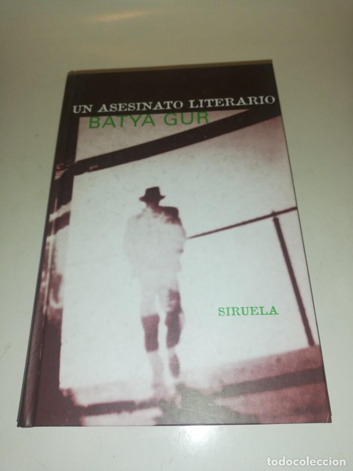 BATYA GUR , UN ASESINATO LITERARIO (Libros de Segunda Mano (posteriores a 1936) - Literatura - Narrativa - Otros)
