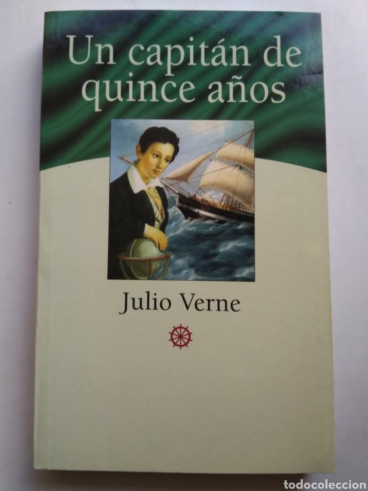 UN CAPITÁN DE QUINCE AÑOS/JULIO VERNE (Libros de Segunda Mano (posteriores a 1936) - Literatura - Narrativa - Otros)
