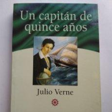 Libros de segunda mano: UN CAPITÁN DE QUINCE AÑOS/JULIO VERNE. Lote 195247420