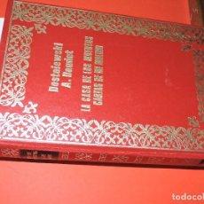 Libros de segunda mano: LA CASA DE LOS MUERTOS; DOSTOIEWSKI. CARTAS DE MI MOLINO; A. DAUDET. ED. PETRONIO. BARCELONA 1971. Lote 195357202