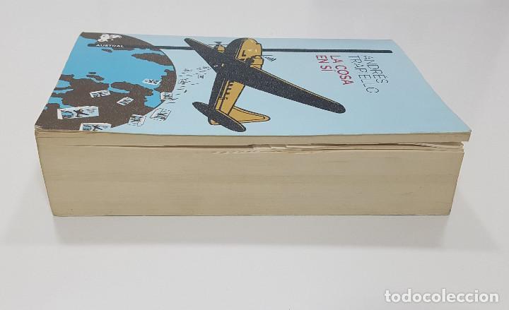 Libros de segunda mano: LA COSA EN SÍ. Andres Trapiello - Foto 3 - 195386118