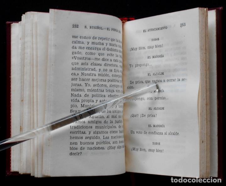 Libros de segunda mano: PCBROS - EL PUEBLO GRIS - SANTIAGO RUSIÑOL - ED. AGUILAR - COL CRISOL Nº 297 - 1ª ED. - 1950 - Foto 9 - 195390263