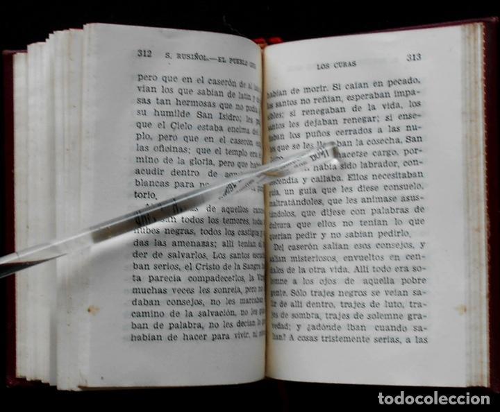 Libros de segunda mano: PCBROS - EL PUEBLO GRIS - SANTIAGO RUSIÑOL - ED. AGUILAR - COL CRISOL Nº 297 - 1ª ED. - 1950 - Foto 10 - 195390263
