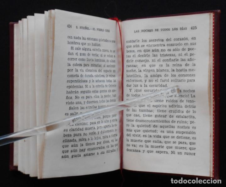 Libros de segunda mano: PCBROS - EL PUEBLO GRIS - SANTIAGO RUSIÑOL - ED. AGUILAR - COL CRISOL Nº 297 - 1ª ED. - 1950 - Foto 11 - 195390263