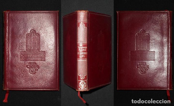 Libros de segunda mano: PCBROS - EL PUEBLO GRIS - SANTIAGO RUSIÑOL - ED. AGUILAR - COL CRISOL Nº 297 - 1ª ED. - 1950 - Foto 13 - 195390263