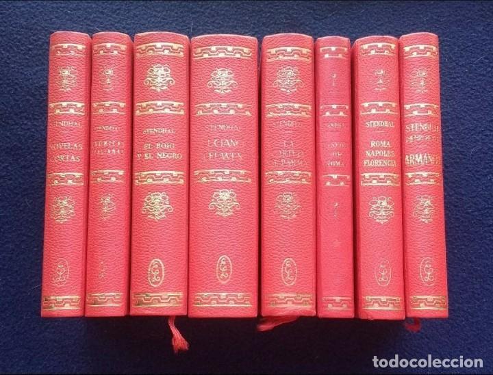 OBRAS DE STENDHAL - 8 TOMOS - ED. LORENZANA - 1964/68 (Libros de Segunda Mano (posteriores a 1936) - Literatura - Narrativa - Otros)