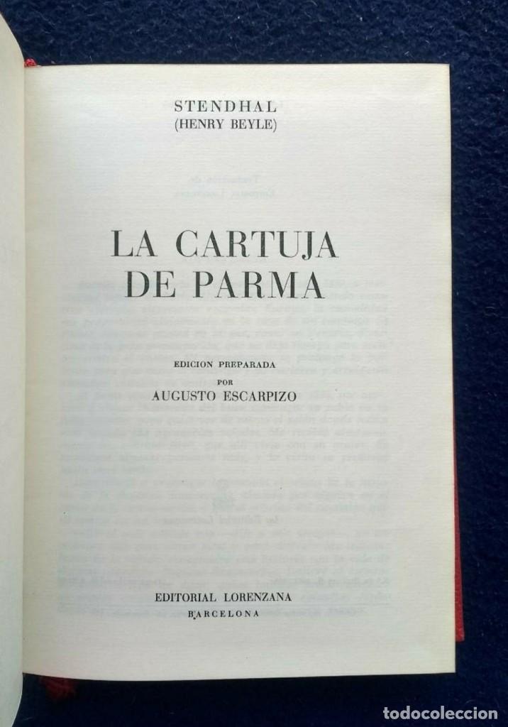 Libros de segunda mano: OBRAS DE STENDHAL - 8 TOMOS - ED. LORENZANA - 1964/68 - Foto 5 - 195390517