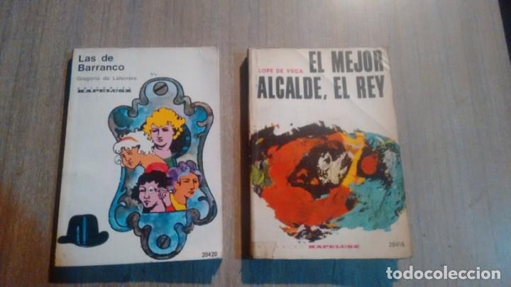LAS DE BARRANCO - EL MEJOR ALCALDE, EL REY - DISTINTOS AUTORES - (Libros de Segunda Mano (posteriores a 1936) - Literatura - Narrativa - Otros)