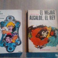Libros de segunda mano: LAS DE BARRANCO - EL MEJOR ALCALDE, EL REY - DISTINTOS AUTORES -. Lote 195394237