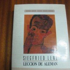 Libros de segunda mano: LECCION DE ALEMAN. SIEGFRIED LENZ. DEBATE, 1990. Lote 195403145