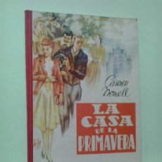 Libros de segunda mano: LMV - LA CASA DE LA PRIMAVERA. CARMEN NONELL. Lote 195414558