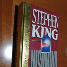 Libros de segunda mano: INSOMNIA. STPEHEN KING. ORBIS. SELLO ANTERIOR DUEÑO Y ALGUNAS PÁGINAS AMARILLENTAS. TAPA DURA. Lote 195438933