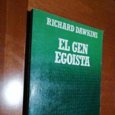 Libros de segunda mano: EL GEN EGOISTA. RICHARD DAWKINS. CIENTIFICA SALVAT. RÚSTICA. BUEN ESTADO. Lote 195439108