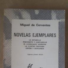 Libros de segunda mano: NOVELAS EJEMPLARES - MIGUEL DE CERVANTES. Lote 195468728